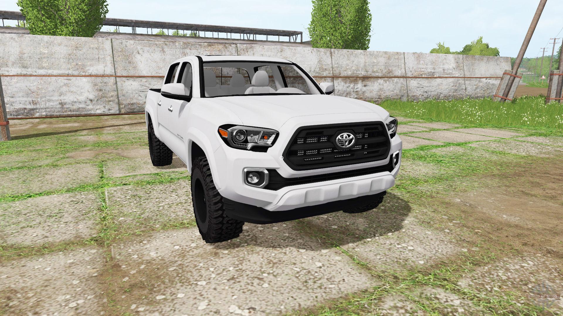 2018 Toyota Tundra Double Cab >> TOYOTA TACOMA DOUBLE CAB 2016 LS 17 - Farming Simulator 2017 mod, LS 2017 mod / FS 17 mod