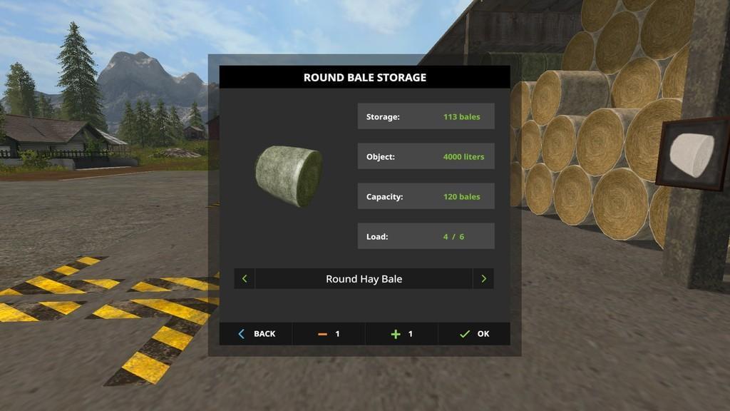 Bale Storage V1 0 0 0 For Fs17 Farming Simulator 2017