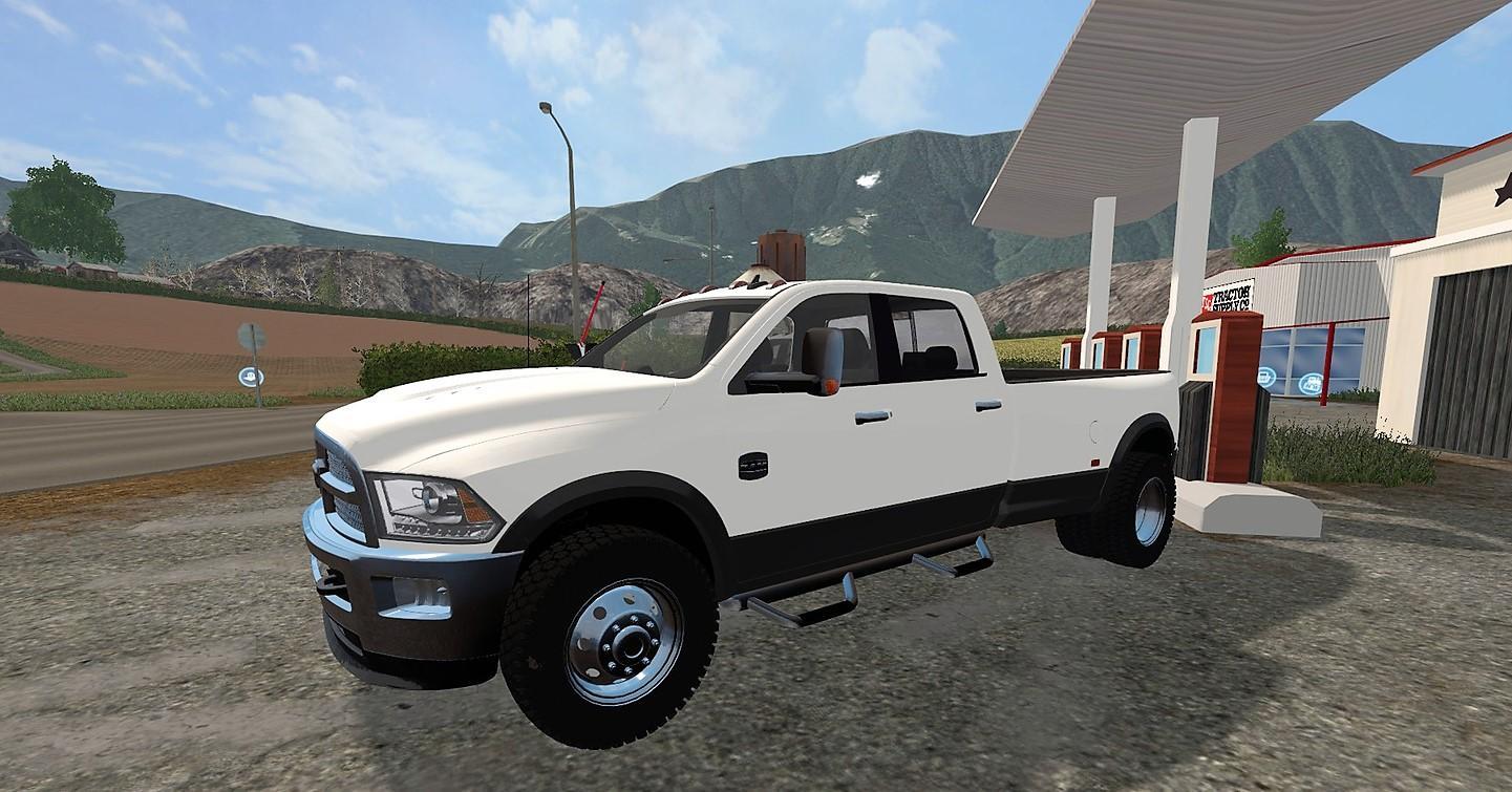 DODGE RAM 3500 V2 0 LS 17 Farming Simulator 2017 mod LS