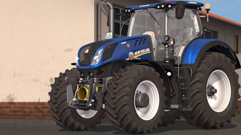 NEW HOLLAND T7 HD Tractor - Farming Simulator 2017 mod, LS