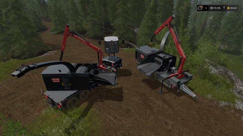 Forest extension for the MAN TGS 6x / 8x / 10x AR-Pack v3 0 Trailer