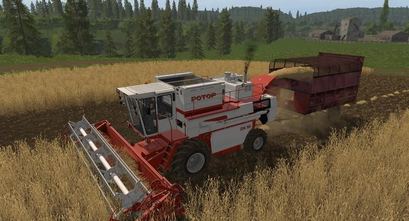 SK-10 Rotor v0 2 0 0 for LS17 - Farming Simulator 2017 mod, LS 2017