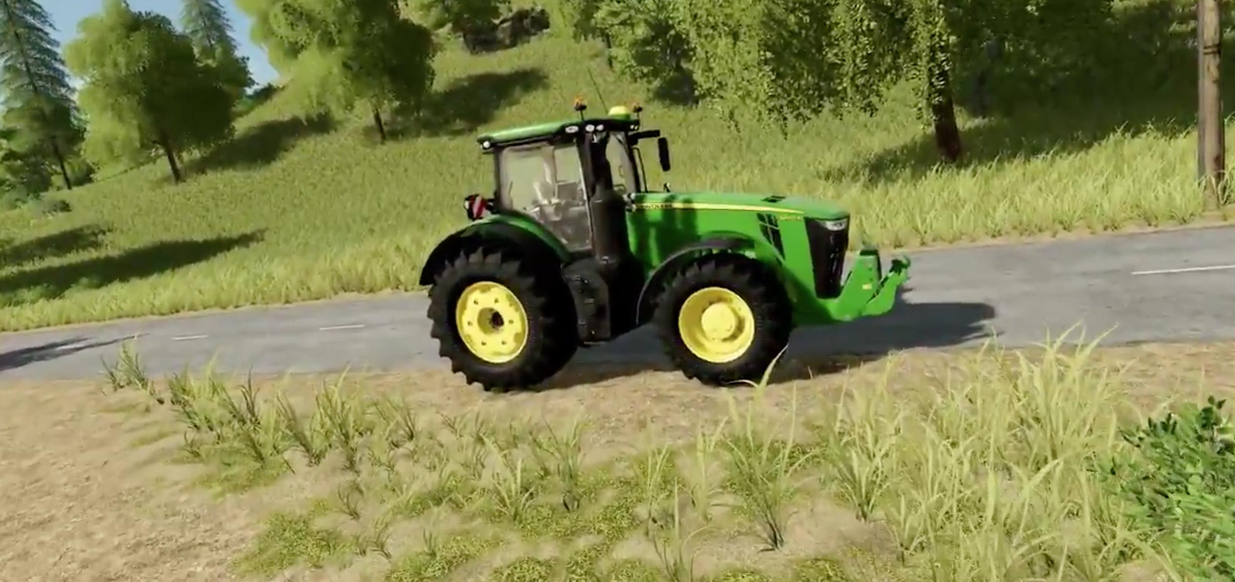 John Deere Farm Tractors >> Farming Simulator 19 will have John Deere 8400R - Farming Simulator 2017 mod, LS 2017 mod / FS ...