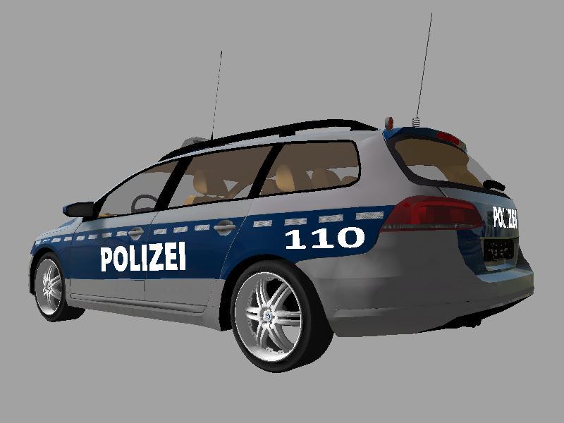 Passat B7 Verkehrspolizei Beta Ls17 Farming Simulator