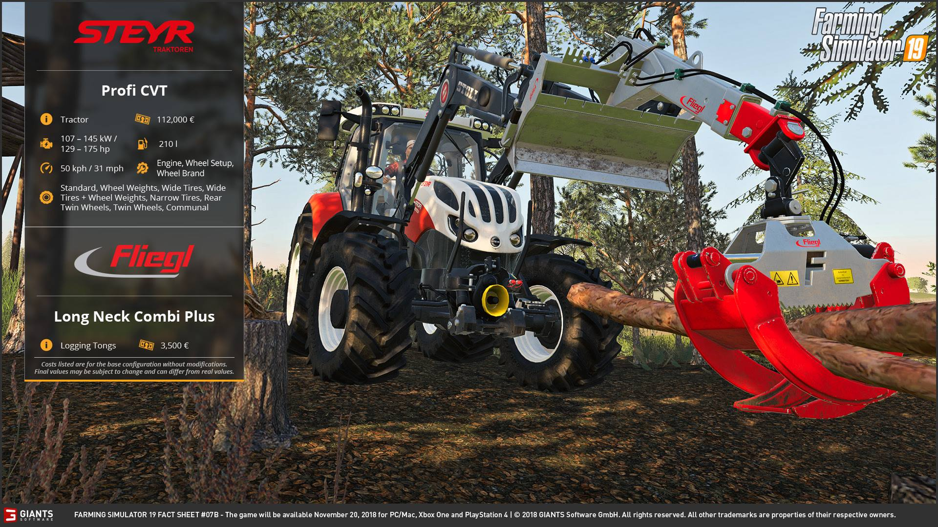 More Forest vehicles for Farming Simulator 19 was revealed ...
