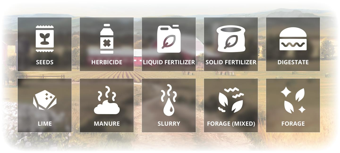 Weed Control & New Crops control system in Farming Simulator 19