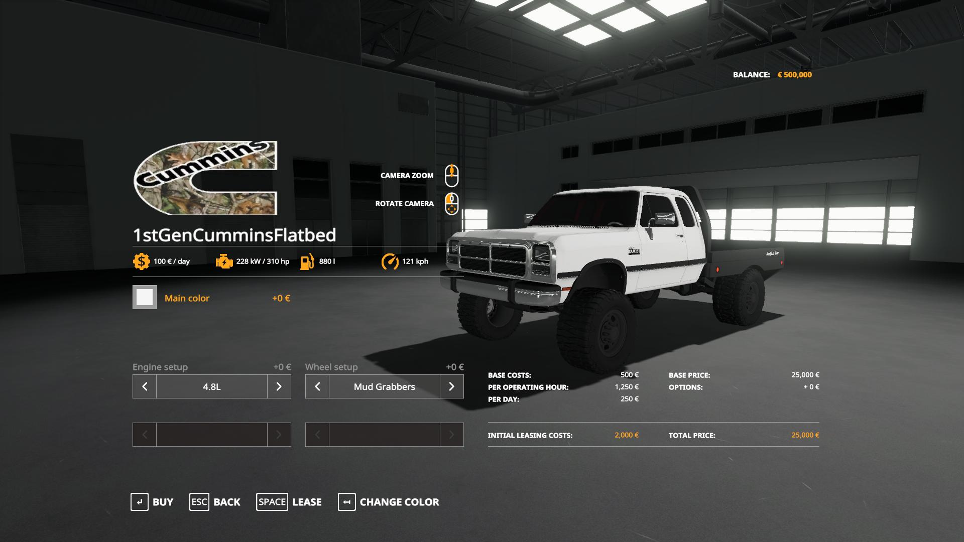 1st Gen Cummins Flatbed V2 0 Fs 2019 Farming Simulator 2017 Mod Ls 2017 Mod Fs 17 Mod