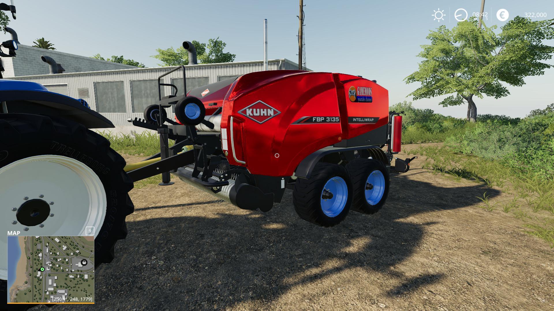 silage baler with 10 meter width v1 0 for FS 19 - Farming Simulator