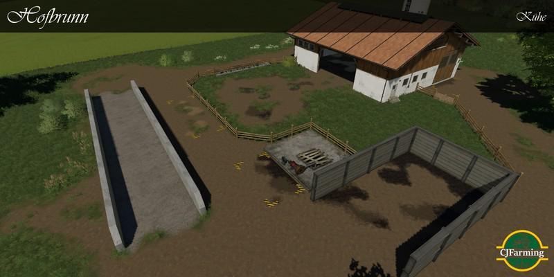 Hofbrunn Map v1 7 for FS19 - Farming Simulator 2017 mod, LS