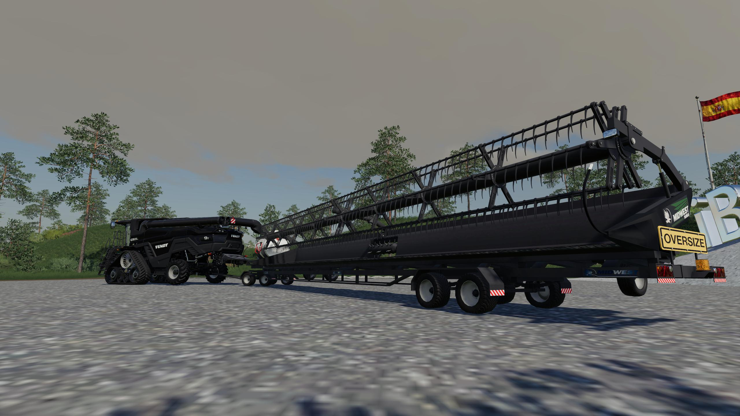 Midwest Durus 55Ft v1 0 0 0 for FS 19 - Farming Simulator