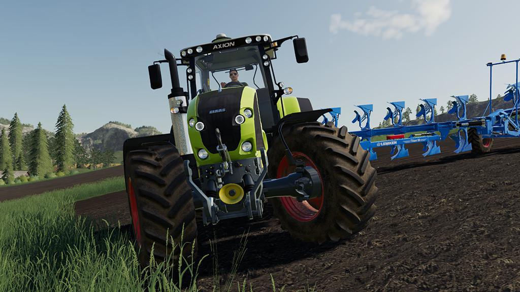 CLAAS Axion 900 v1 0 0 0 FS 19 - Farming Simulator 2017 mod, LS 2017