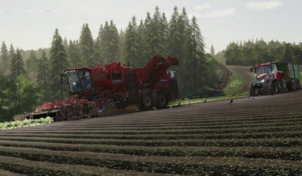 Czech Map By Coufy 19 v2 for FS19 - Farming Simulator 2017