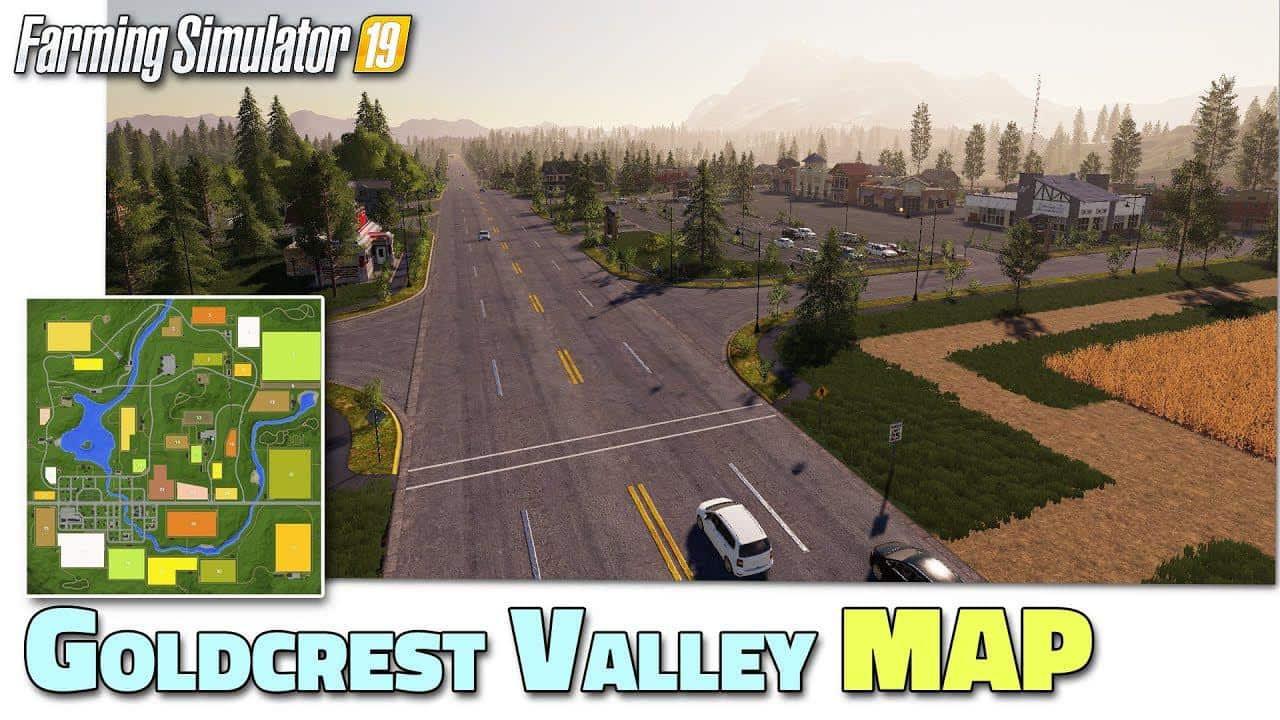 Goldcrest Valley Map V2 01 For Fs19 Farming Simulator 2017 Mod Ls 2017 Mod Fs 17 Mod