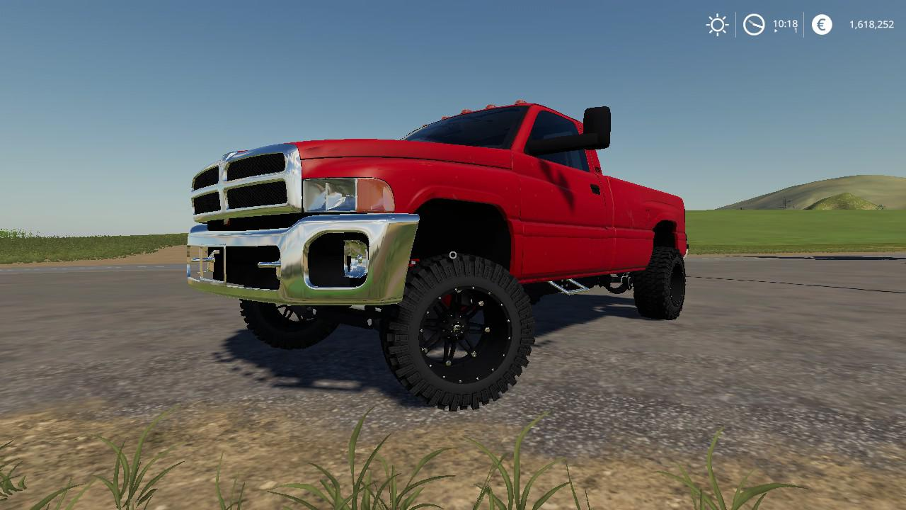 2nd Gen Cummins With Ford Bumper V1 0 0 0 For Fs19 Farming Simulator 2017 Mod Ls 2017 Mod Fs 17 Mod