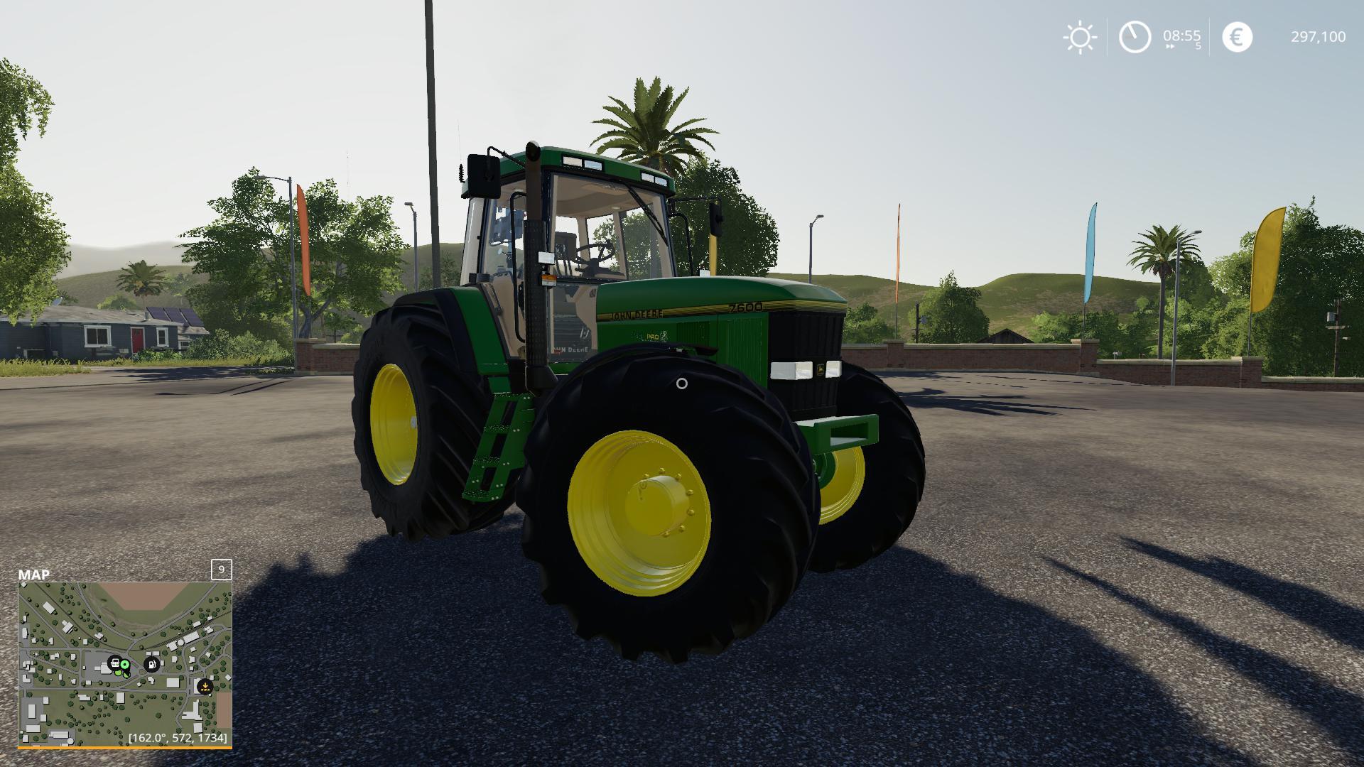 john deere 7810 v1000 ls19  farming simulator 2017 mod